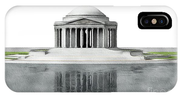 Jefferson Memorial iPhone Case - Thomas Jefferson Memorial, Washington by John Springfield