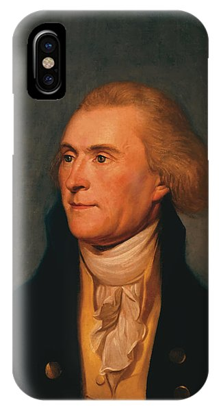 History iPhone Case - Thomas Jefferson by War Is Hell Store