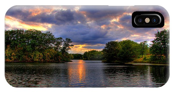 Thomas Lake Park In Eagan On A Glorious Summer Evening IPhone Case
