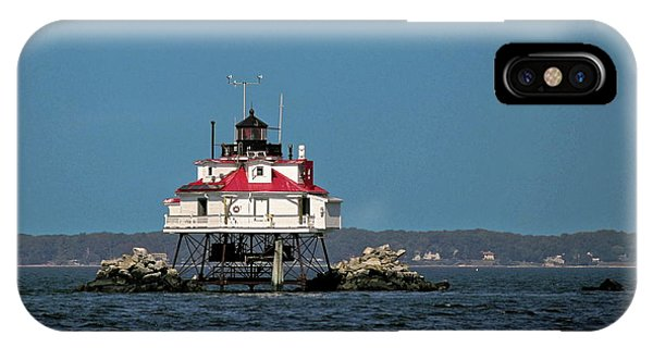 Thomas Point Shoal Light IPhone Case