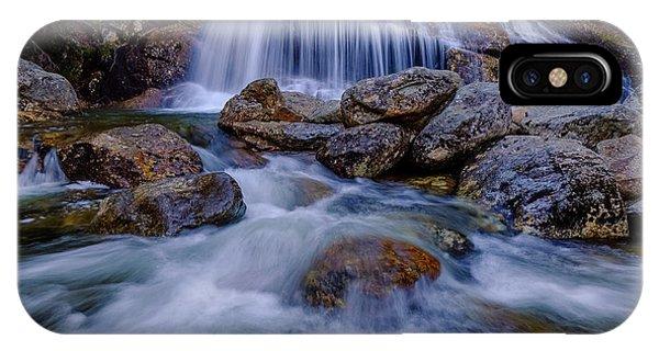 Thompson Falls, Pinkham Notch, Nh IPhone Case