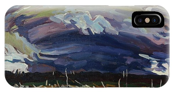 Damage iPhone Case - Thomson's Thunderhead by Phil Chadwick
