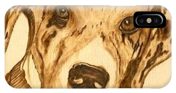 Thor - Great Dane Puppy Phone Case by Danette Smith