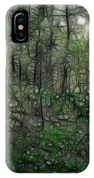 Thoreau Woods Fractal IPhone Case