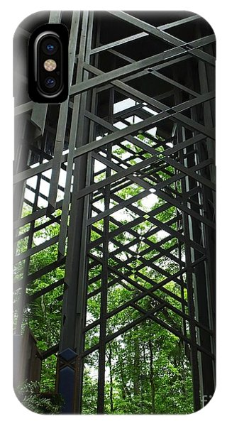 Thorncrown Chapel Sanctuary In The Ozark Mountains IPhone Case
