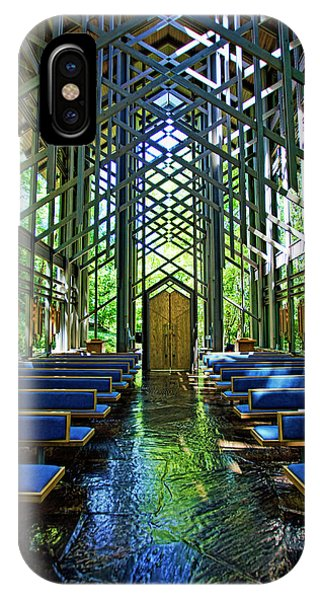 Thorncrown Chapel Serenity IPhone Case