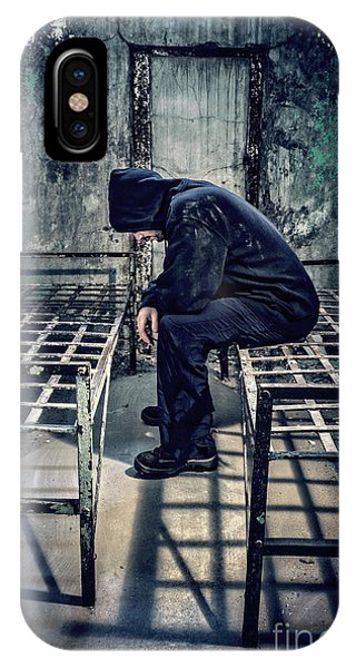 Desolation iPhone Case - Thorns Of Punishment by Evelina Kremsdorf