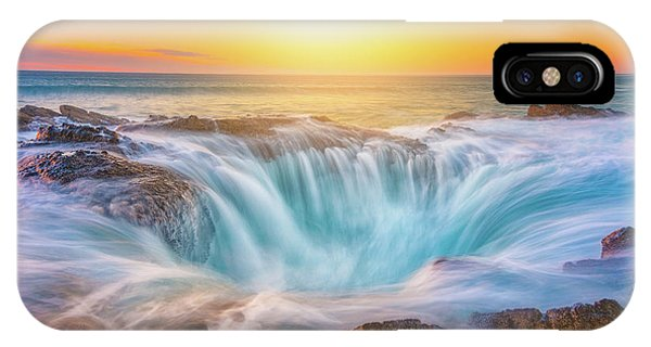 IPhone Case featuring the photograph Thor's Light by Darren White