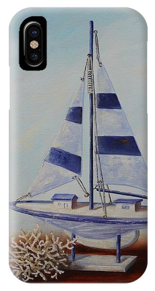Thoughts Of Sea IPhone Case
