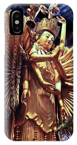 Thousand Hands Buddha IPhone Case