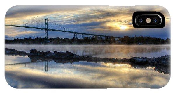 Thousand Islands Bridge IPhone Case