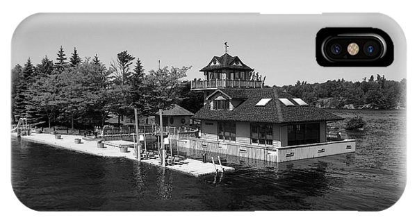 Thousand Islands In Black And White IPhone Case