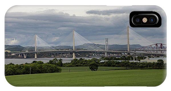 Three Bridges Over The Forth IPhone Case