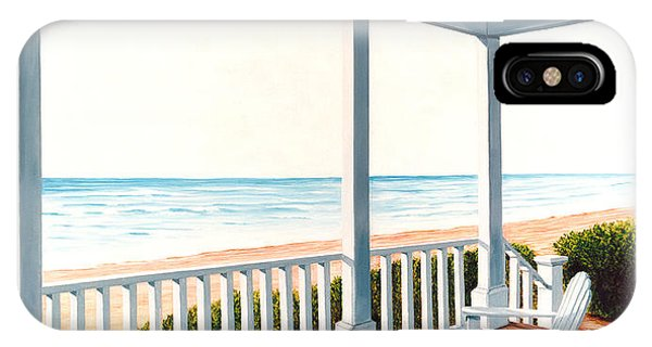 Adirondacks By The Sea - Prints From Original Oil Painting IPhone Case