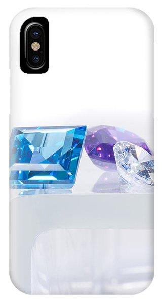 Three Jewel IPhone Case