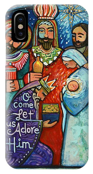 Three Kings O Come Let Us Adore Him IPhone Case