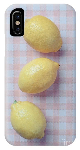 Three Lemons IPhone Case