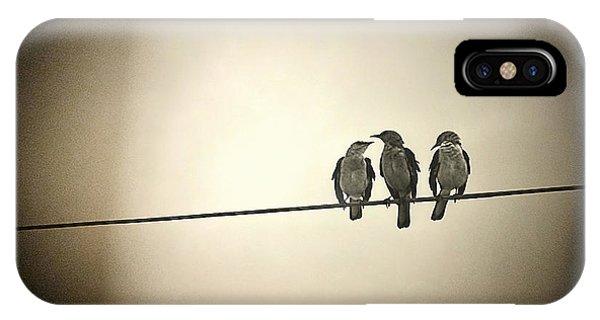 Three Little Birds IPhone Case