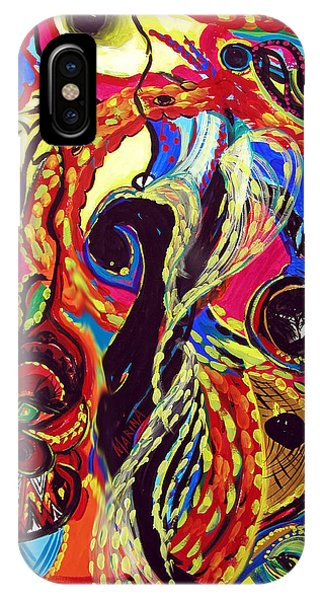 Angel And Dragon IPhone Case