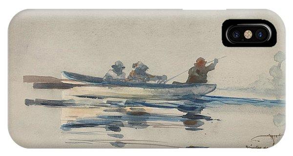Three Men In A Boat IPhone Case