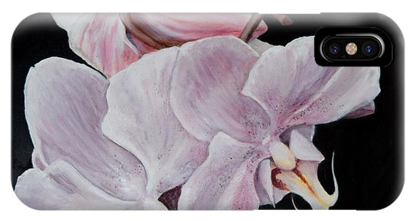 Three Orchids IPhone Case