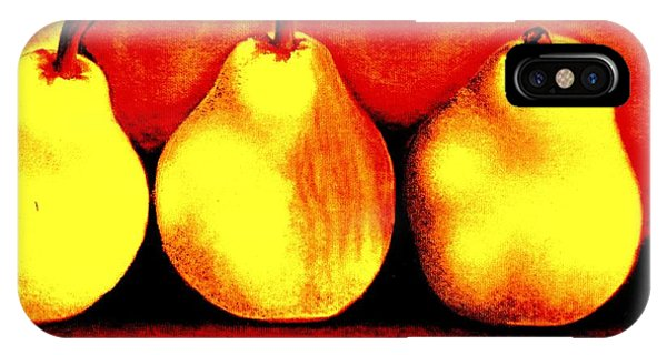 Three Pears IPhone Case