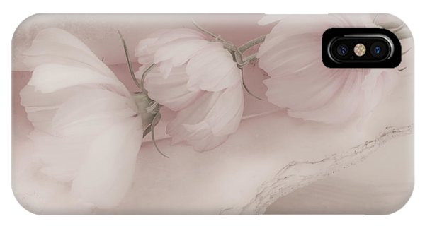Three Pink Cosmo Flowers IPhone Case
