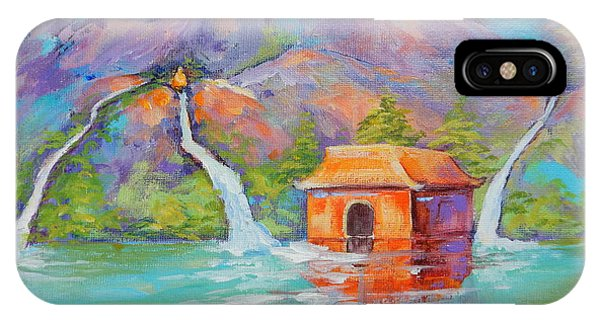 Three Sacred Waters IPhone Case