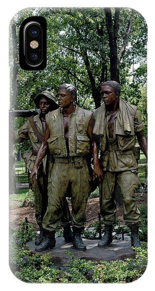 Three Servicemen IPhone Case