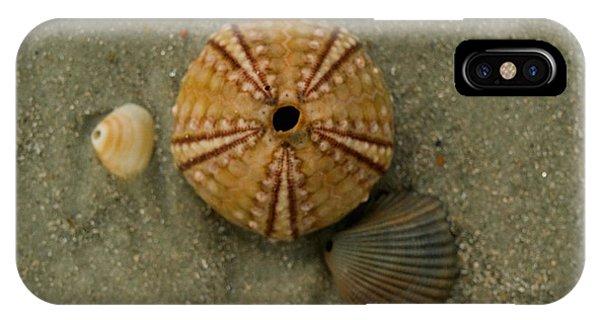 Three Shell Study IPhone Case