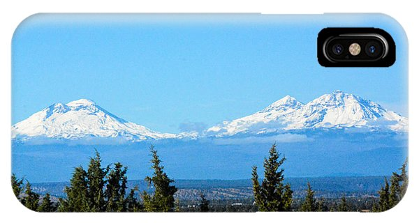 Three Sisters In The Fall IPhone Case
