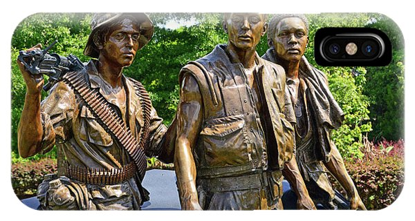 Three Soldiers Monument IPhone Case