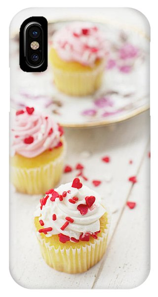 Icing iPhone Case - Three Tiny Cupcakes by Rebecca Cozart
