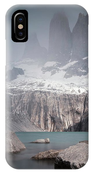 Three Towers, Chile IPhone Case