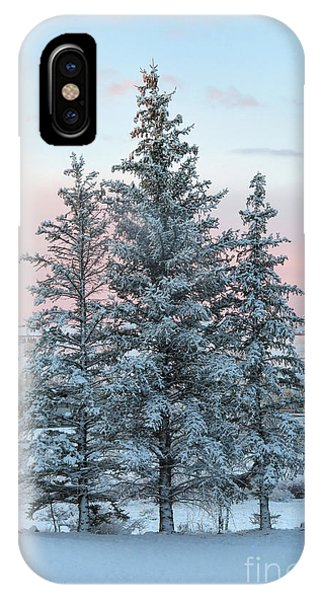 Three Trees IPhone Case