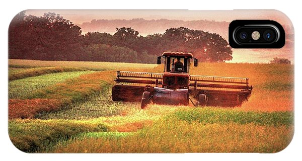 Swathing On The Hill IPhone Case