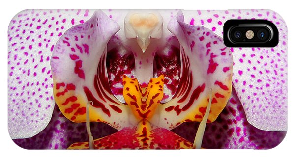 Throat Of An Orchid IPhone Case