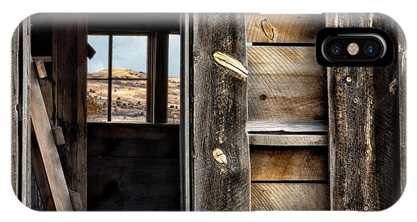 IPhone Case featuring the photograph Through Cabin Window by Denise Bush