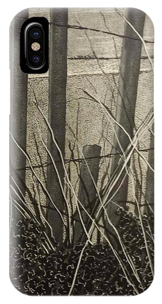 Through The Beach Fence IPhone Case