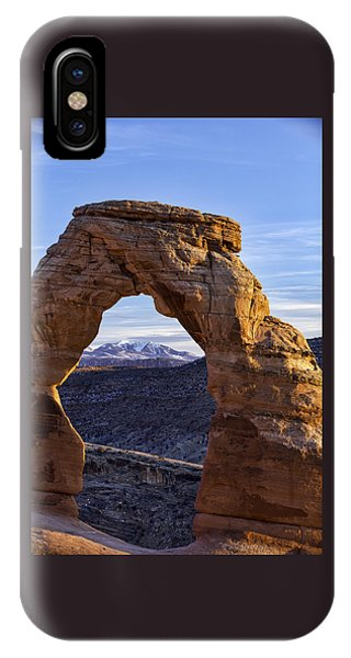 Through The Delicate Arch IPhone Case