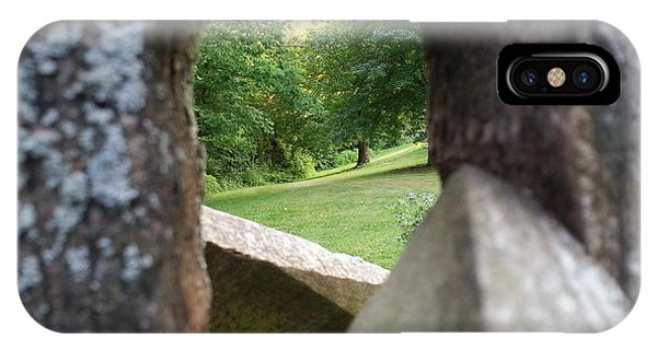 Through The Post IPhone Case