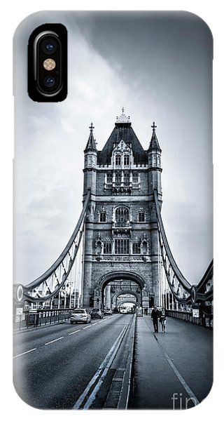 Mono iPhone Case - Through The Tower by Evelina Kremsdorf