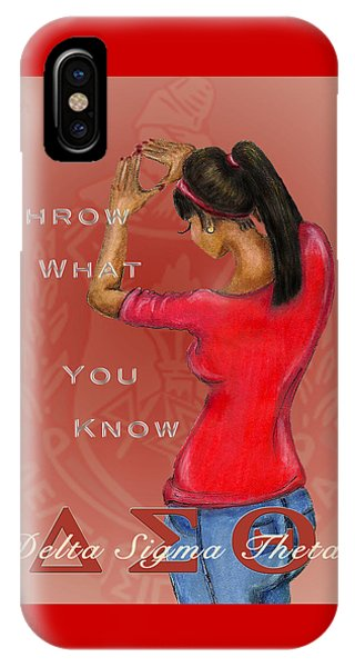 new product 10c39 01376 Delta Sigma Theta iPhone Cases   Fine Art America