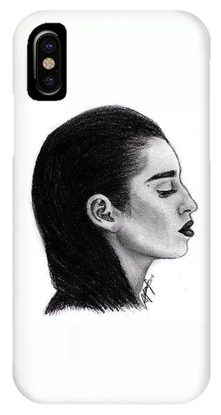 iPhone Case - Lauren Jauregui Drawing By Sofia Furniel by Jul V