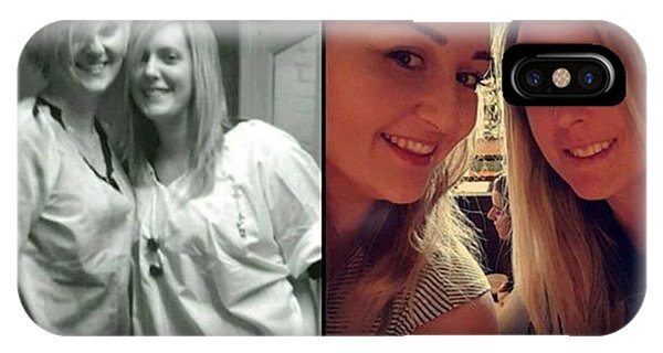 #throwback #thenandnow #love #loveher Phone Case by Natalie Anne