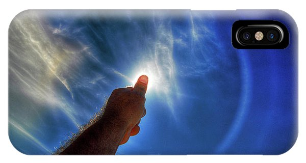 Thumb To The Sky IPhone Case