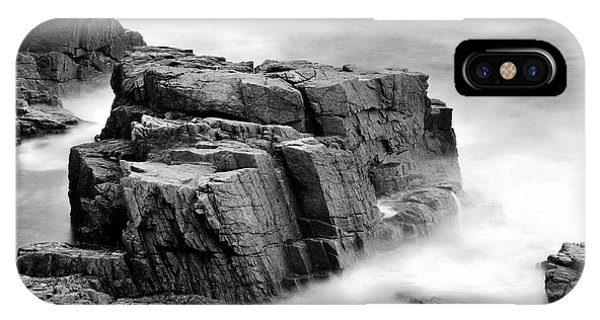 Thunder Along The Acadia Coastline - No 1 IPhone Case