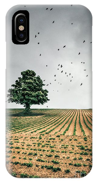 English Countryside iPhone Case - Thunder Arising by Evelina Kremsdorf