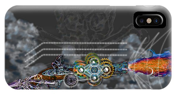 Thunder Gun Of The Dead IPhone Case