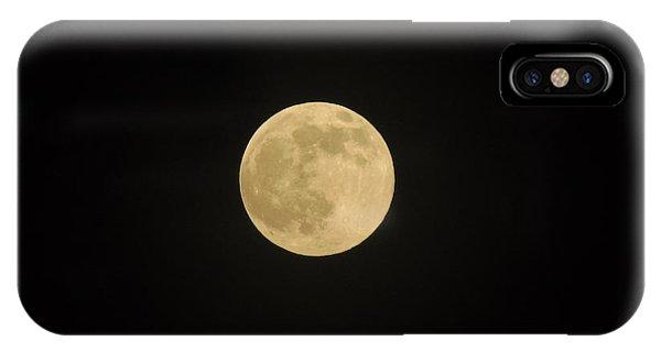 Thunder Moon IPhone Case